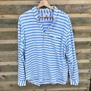Old Navy Men's Striped Long Sleeve Size Large